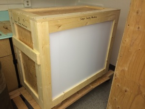 sewing machine crate